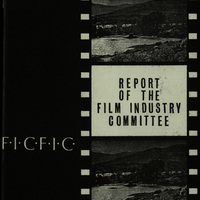 Copy of the Report of the Film Industry Committee, chaired by John Huston.