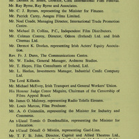 Copy of the Report of the Film Industry Committee, chaired by John Huston (2).